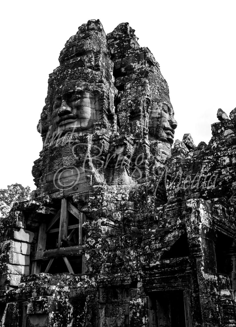 Bayon temple, cambodia, siem reap, angkor wat