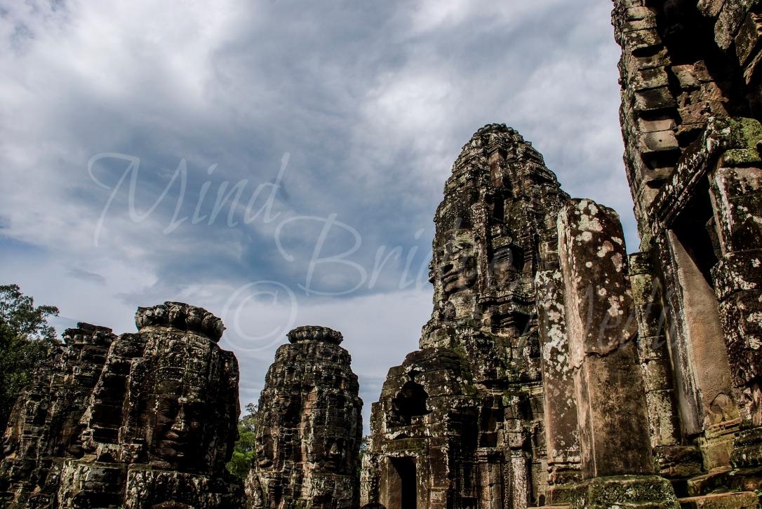 bayon temple, cambodia. statue