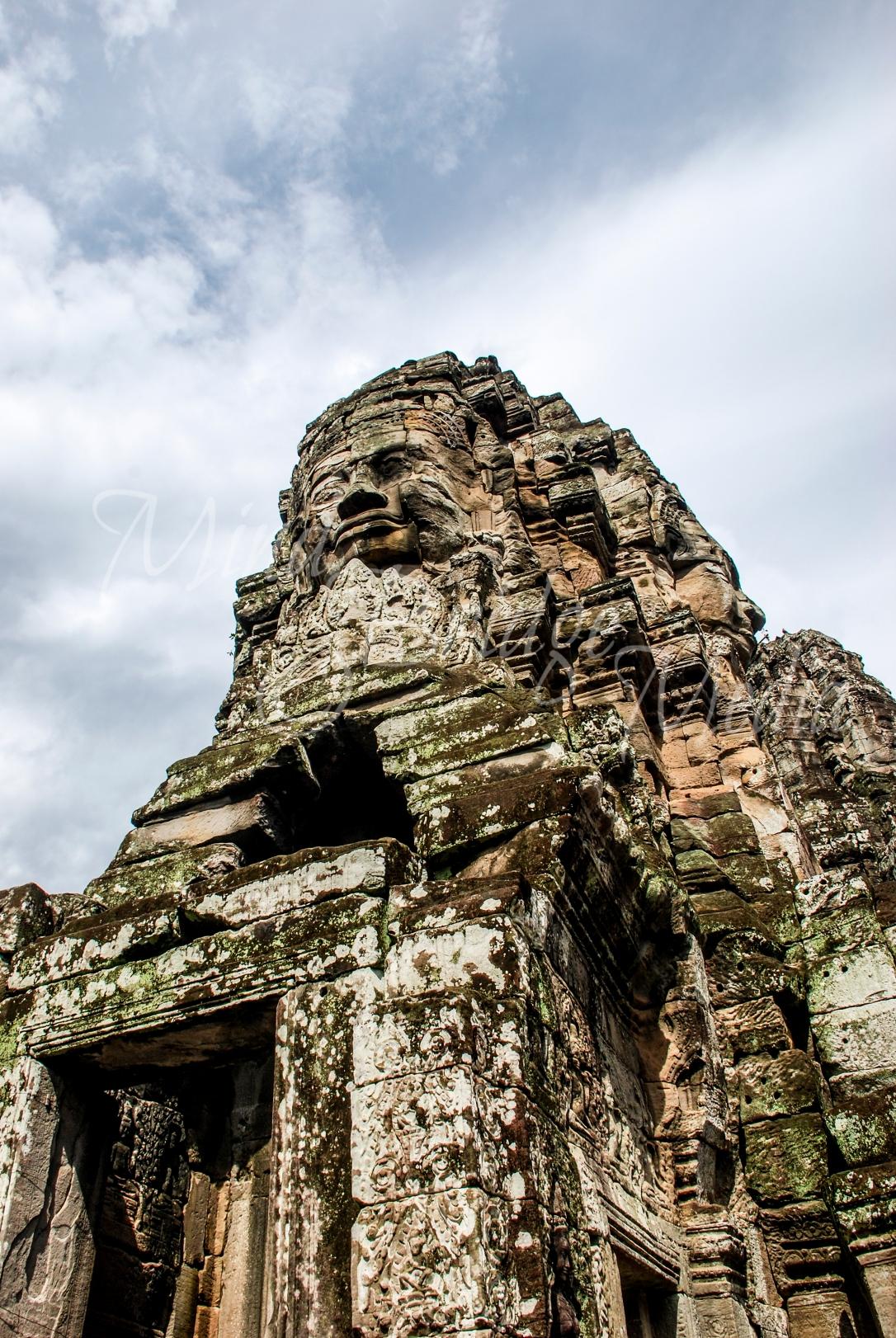 bayon statue, cambodia, asia, temple