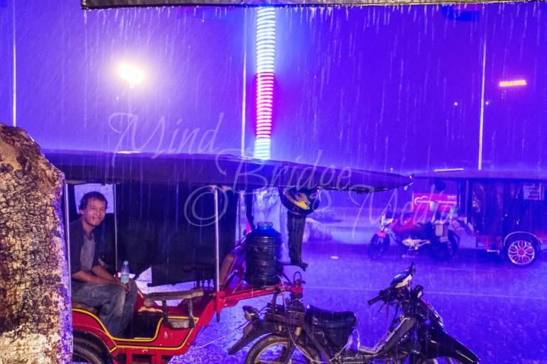 purple rain and tuktuk