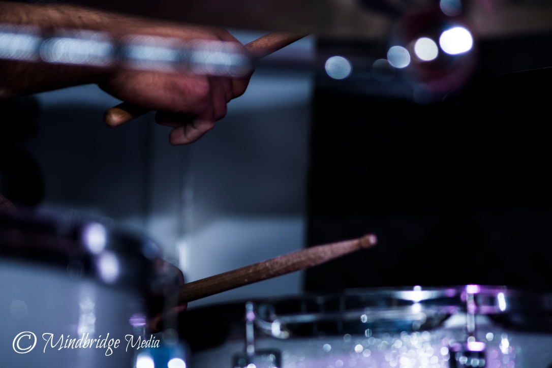 sticks of the drummer - stage