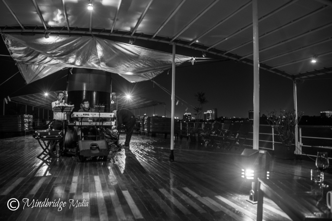 Boat concert Cambodia