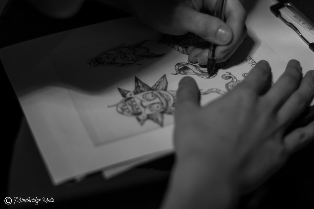 drawing original tattoos