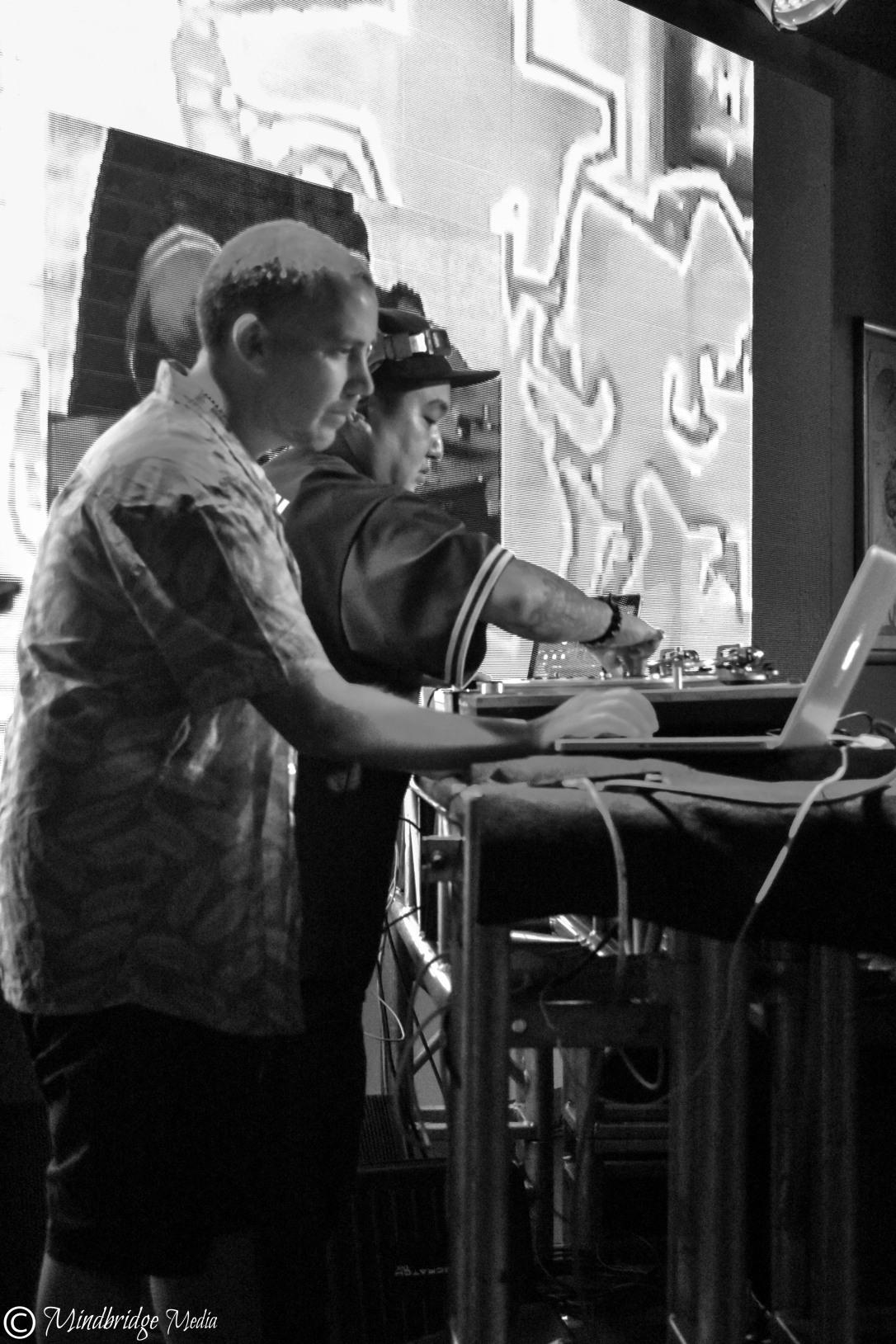 DJ Woody and DJ Niko Yu