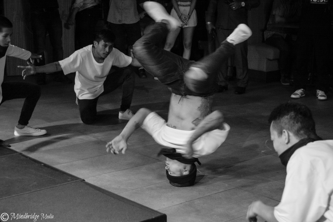 Hip-hop, breakdance performers, Cambodia